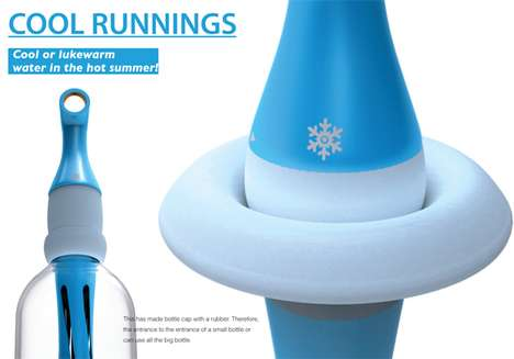 Cool Runnings Water Bottle