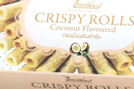 Crispy Rolls Packaging
