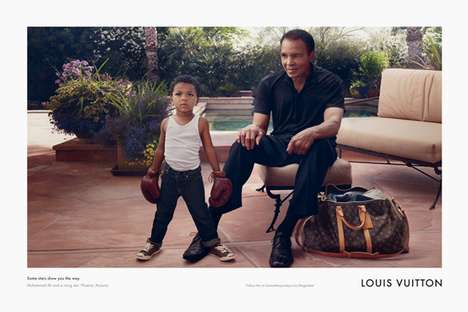 Muhammad Ali for Louis Vuitton Core Values