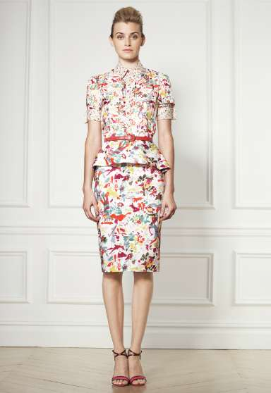 Polished Playful Dresses - The Carolina Herrera Resort 2013 Collection is Charming