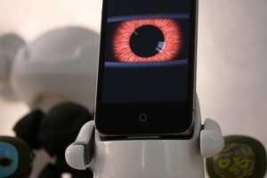 The Moboto iPhone Dock Transforms Phones into Robot Minions