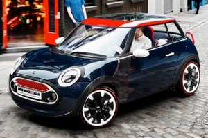 The MINI Rocketman Debuts in Time for the 2012 London Olympics