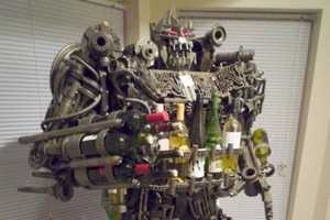 The Transformer Wine Rack Fights off Sobriety and Decepticons