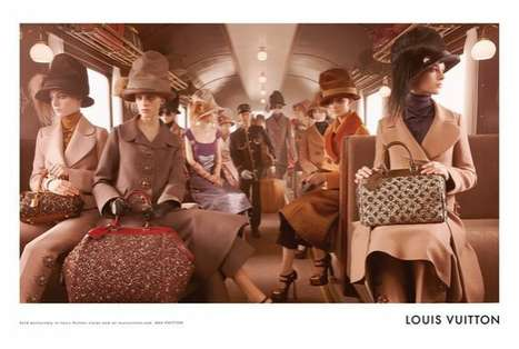 Louis Vuitton Fall 2012 campaign