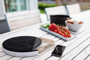 The Electrolux Design Lab Mobile Oven is Compact & Portable