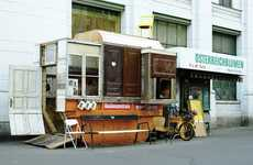 Dumpster-Made Cafes