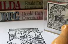 Individualized Book Markers - The 'Book Belongs To' Stamp is Ideal Personalization
