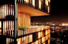 Implanted Garden Skyscrapers - The Som 'Manhattan Loft Garden' is Full of Life