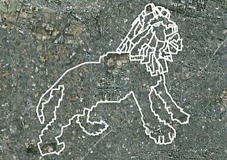 the tokyo zoo projects gps drawings