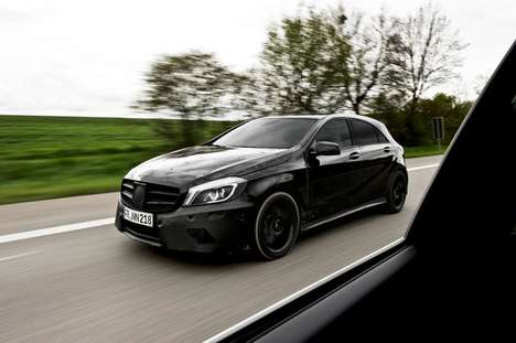 Classy Compact Cars - The A45 Amg Mercedes-Benz Packs Luxury into a Small Package
