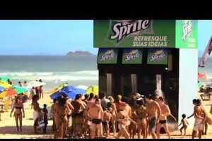 The Sprite 'Refresh Your Ideas' Drink Dispenser Spread Brand Awarnes