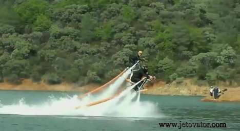 jetovator water powered bike