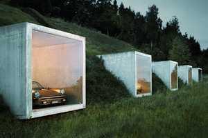 The Peter Kunz Architektur Garage Studio is Cleverly Designed