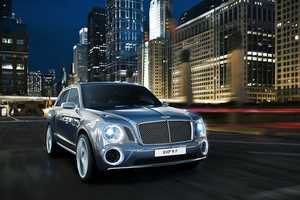The Bentley Exp 9 F is the Epitome of All Whell Drive Luxury
