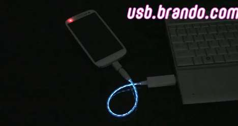usb visible light charger