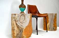 Upcycled Tree Stump Furnishings