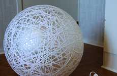DIY Globe Chandeliers