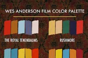 The Beth Mathews 'Wes Anderson and His Colors' Chart is Spot On