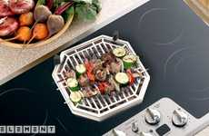 Smokeless Stovetop Barbecues - The Element BBQ Lets You Cook from the Convenience of Your Kitchen