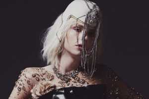 The Black Magazine Pejic Photoshoot is Gaga-Themed