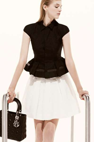Amplified Flared Frocks - The Dior Resort 2013 Collection is Poised and Refined