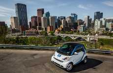 Solar Powered Rental Cars - The Daimler car2go Program Lets Users Test Drive the Smart Fortwo