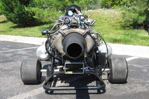 Seth Kettleman's Jet-Powered Go-Kart is a High-Performance Ride