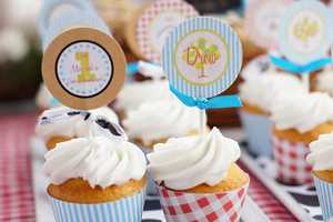 The 'Barnyard Cupcake Toppers' are a Convenient Design