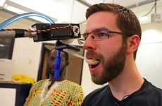 Spoon-Feeding Robots - The Eye-Controlled Robotic Arm Feeding Technology Helps the Handicapped