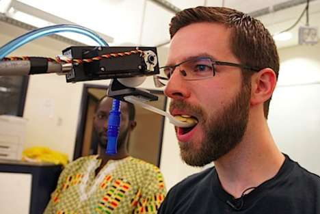 Eye-Controlled Robotic Arm Feeding Technology