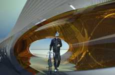 Water-Cleaning Biker Bridges