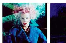 Doll-Like Duo Photoshoots - The Vogue Us July 2012 'Risky Business' Editorial is Figurine-Friendly