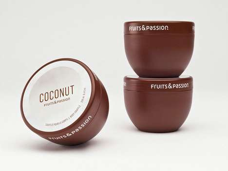 Food-Formed Branding - Fruits & Passion Packaging Takes the Shapes of its Scrumptious Contents