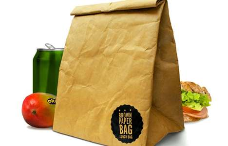 Insulated Brown Paper Bag