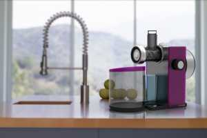 The Grape Juicer Combines Dependable Technology With Sleek Design