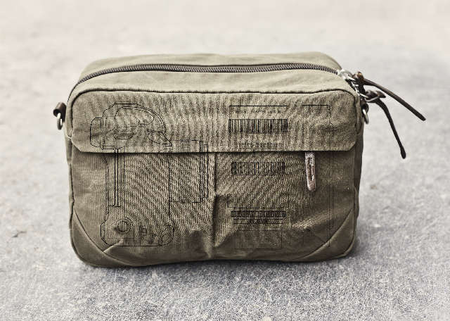Durable Camera-Holding Duffels