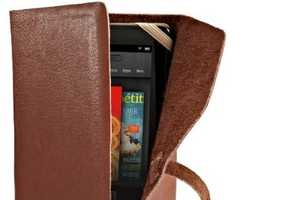 The Verso Marrakesh Leather Cover for Kindle is Refined