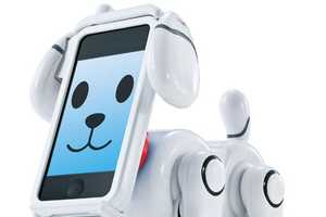 The Bandai SmartPet Transforms a Smart Phone into a Loveable Companion