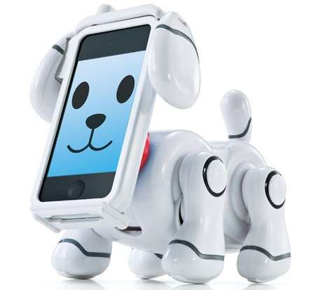 Digital iPhone Dogs - The Bandai SmartPet Transforms a Smart Phone into a Loveable Companion