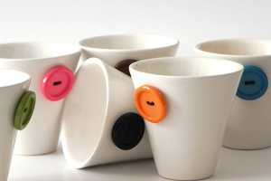 These Attaccare Bottone Coffee Cups Can Accommodate Human Unions Too