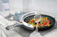 Smokeless Stove Utensils - Purifi Pan by Hong Ying Guo Takes the Bad Air Straight off the Pan
