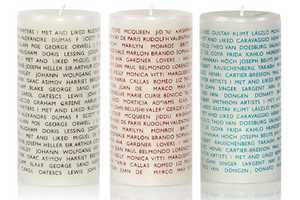 Conversation Candles by Archie Grand Will Keep Your Table Talk Thriving