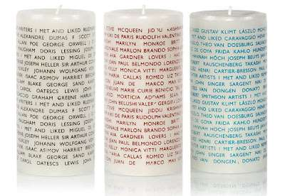 conversation candles by archie grand