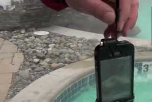 The driSuit iPhone Case Keeps the Device Dry in Wet Conditions