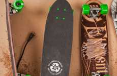 Recycled Skateboard Projects - The Element 'No Board Left Behind Program' Incorporates Used Material