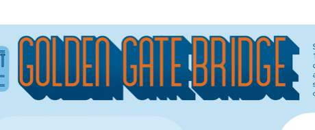 American Landmark Graphics - The '7 Things You Didn't Know About the Gold Gate Bridge Ch