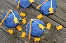 These Going Fishin' Cupcakes Will Have Your Favorite Fisherman Hooked