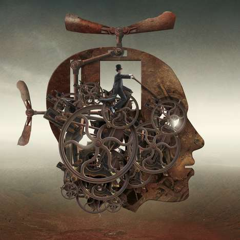 Morbidly Surreal Portraits - Igor Morski Fuses Humans and Animals in His Imaginative Art