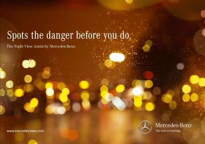 Mercedes Night View Assist