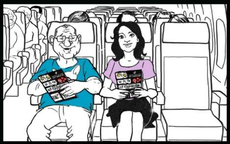 in flight safety videos the air new zealand campaign features ed oneill